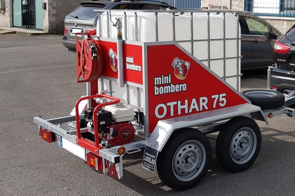 OTHAR 75, Minibombero's new product